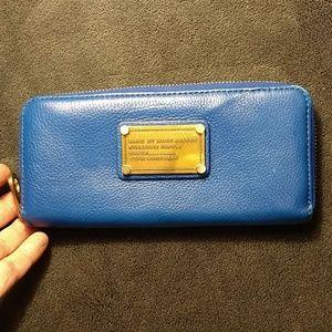 Marc Jacobs Blue Wallet